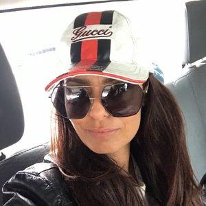 59857d5d720 Authentic GUCCI 90s Vintage cap hat small